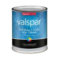 Valspar 1 Quart Medallion Interior Latex Eggshell Paint from Blain's Farm and Fleet