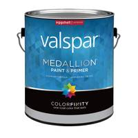 Valspar 1 Gallon Medallion Wall & Trim Interior Eggshell Latex Paint from Blain's Farm and Fleet