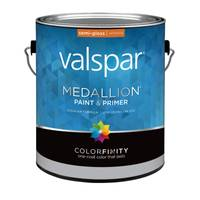 Valspar 1 Gallon Medallion Wall & Trim Interior Semi - Gloss Latex from Blain's Farm and Fleet