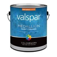Valspar 1 Gallon Medallion Wall & Trim Interior Semi - Gloss Latex from Blain's Farm and Fleet