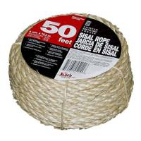 Koch Industries 50' Twisted Sisal Rope from Blain's Farm and Fleet