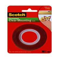 Scotch Clear Mounting Tape from Blain's Farm and Fleet