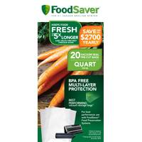FoodSaver Heat Sealed Vacuum Bags from Blain's Farm and Fleet