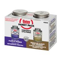 Oatey Handy Packs Plastic Pipe Solvents from Blain's Farm and Fleet