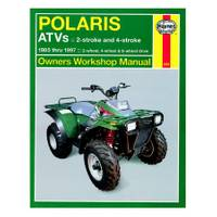 Haynes Polaris ATV 250-500cc, '85-'97 Manual from Blain's Farm and Fleet