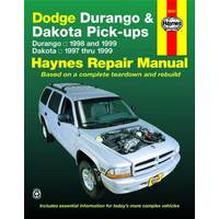 Haynes Dodge Durango (98-99) & Dakota, (97-99) Manual from Blain's Farm and Fleet