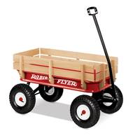 Radio Flyer All-Terrain Steel & Wood Wagon from Blain's Farm and Fleet