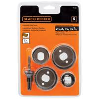 Black & Decker Hole Saw Assortment from Blain's Farm and Fleet