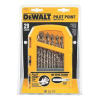DEWALT 29 Piece Pilot Point Set with Tough Case from Blain's Farm and Fleet