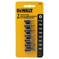 DEWALT 7 Piece Bit Tip Set from Blain's Farm and Fleet
