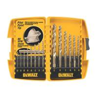 DEWALT 14 Piece Pilot Point Drill Bit Set from Blain's Farm and Fleet