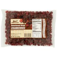 Blain's Farm & Fleet Sweetened Dried Cranberries from Blain's Farm and Fleet
