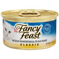 Fancy Feast Classic Ocean Whitefish & Tuna Feast from Blain's Farm and Fleet