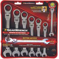GearWrench 7 Piece Flex Head Ratcheting Combination Wrench Set from Blain's Farm and Fleet