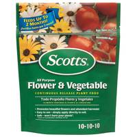 Scotts 3 lb. All Purpose Flower & Vegetable Continuous Release Plant Food from Blain's Farm and Fleet