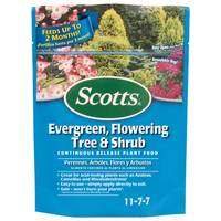 Scotts Evergreen, Flowering Tree and Shrub Continuous Release Plant Food from Blain's Farm and Fleet
