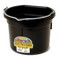 Little Giant 8 Quart DuraFlex Flat Back Plastic Bucket from Blain's Farm and Fleet
