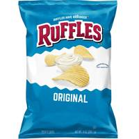 Ruffles Family Size Original Potato Chips from Blain's Farm and Fleet