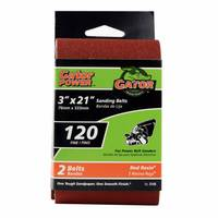 Gator Professional Aluminum Oxide 120 Grit Sanding Belt from Blain's Farm and Fleet