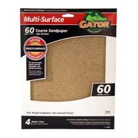 Gator Multi - Surface Coarse Sandpaper 4 Pack from Blain's Farm and Fleet