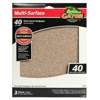 Gator Multi-Surface Sandpaper - 3 Pack from Blain's Farm and Fleet