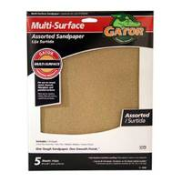 Gator Multi - Surface Assorted Sandpaper 5 Pack from Blain's Farm and Fleet