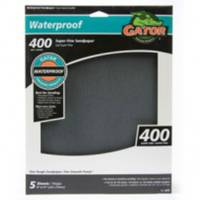 Gator Silicon Carbide Waterproof Sanding Sheet 5 Pack from Blain's Farm and Fleet