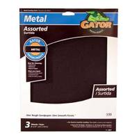 Gator Assorted Emery Paper 3 Pack from Blain's Farm and Fleet