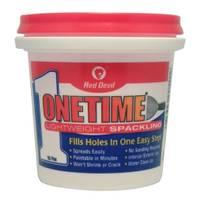 Red Devil Onetime Lightweight Spackling from Blain's Farm and Fleet