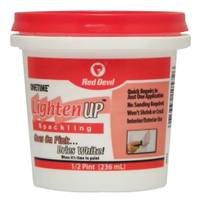 Red Devil Onetime Lighten Up Lightweight Spackling from Blain's Farm and Fleet