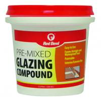 Red Devil Pre - Mixed Glazing Compound from Blain's Farm and Fleet
