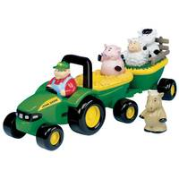 John Deere Animal Sounds Hayride Playset from Blain's Farm and Fleet
