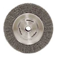 Weiler Vortec Pro Wide Face Crimped Wire Bench Grinder Wheel from Blain's Farm and Fleet
