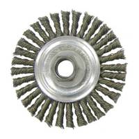 Weiler Vortec Pro Stringer Bead Twist Knot Wire Wheel from Blain's Farm and Fleet