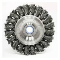 Weiler Vortec Pro Standard Twist Knot Wire Bench Grinder Wheel from Blain's Farm and Fleet