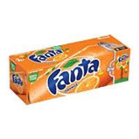 Fanta Orange Soda - 12 Pack from Blain's Farm and Fleet