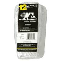 Wells Lamont Men's String Knit Gloves 12-Pack from Blain's Farm and Fleet