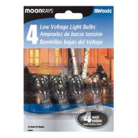 Moonrays Clear Low Voltage Light Bulb 4 Pack from Blain's Farm and Fleet