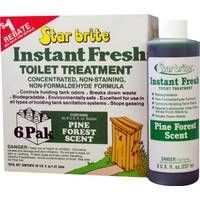 Star Brite Instant Fresh Toilet Treatment 6 Pack from Blain's Farm and Fleet