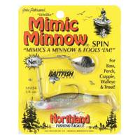 Northland Fishing Tackle Silver Mimic Minnow Spin Fishing Lure from Blain's Farm and Fleet