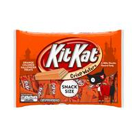 Kit Kat Halloween Orange-Colored White Creme Wafer Bars from Blain's Farm and Fleet