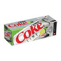 Coca-Cola Diet Coke with Lime - 12 Pack from Blain's Farm and Fleet