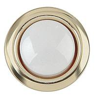 Carlon Gold Rim Lighted Door Bell Button from Blain's Farm and Fleet