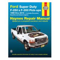 Haynes Ford Super Duty F-250/350 Pick-Ups & Excursion, '99-'10 Manual from Blain's Farm and Fleet