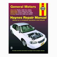 Haynes GM: Malibu (97-03), Classic (04-05), Alero (99-03), Cutlass (97-00) & Grand Am (99-03) Manual from Blain's Farm and Fleet