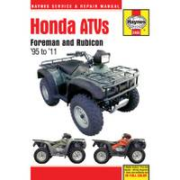 Haynes Honda Foreman & Rubicon ATVs, '95-'11 Manual from Blain's Farm and Fleet