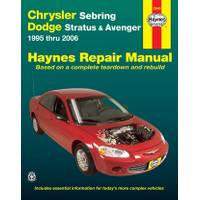 Haynes Chrysler Sebring & Dodge Avenger,  '95-'06 Manual from Blain's Farm and Fleet