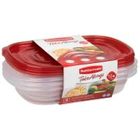 Rubbermaid TakeAlongs Divided Rectangular Containers from Blain's Farm and Fleet
