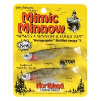 Northland 1/4 oz Silver Shiner Mimic Jig Fish Lure from Blain's Farm and Fleet