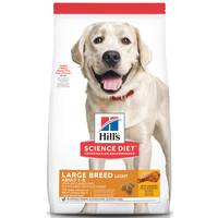 Hills Science Diet 17.5 lb Adult Large Breed Light Dry Dog Food from Blain's Farm and Fleet